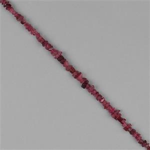 Pink Tourmaline Gemstone Strands