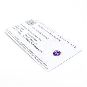 Moroccan Amethyst Gemstone Pieces  1.21cts