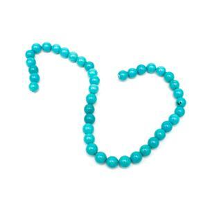 250cts Turquoise Plain Rounds Approx 10mm