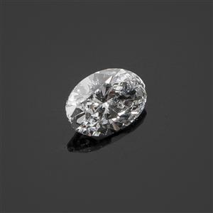 6.2mm, 0.40cts, VS1-VS2 - Brilliant Cut Oval, Lab Grown Diamond, Color H