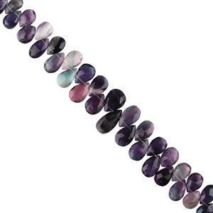 Multi Colour Fluorite Gemstone Strands