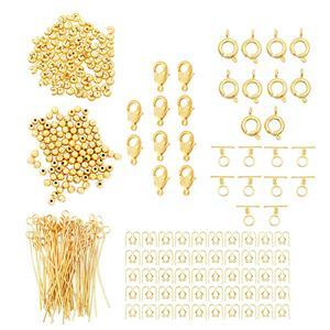 12pm Exclusive! Gold Plated Findings Base Bumper Pack! 430Pcs