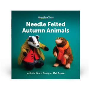 Needle Felted Autumn Animals with Mel Green DVD (PAL)