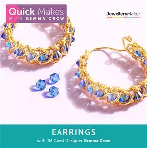 Quick Make Earrings with Gemma Crow DVD (PAL)