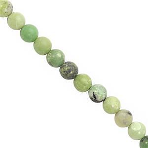 135cts Serpentine Smooth Round Approx 8 to 8.50mm, 28cm Strand