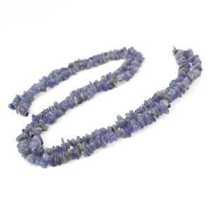 2 x 80cts Tanzanite Small Nuggets Approx 4x2-11x5mm, 38cm