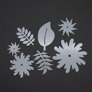 Kit 3 Debbie Bulford Designs Tropical flowers