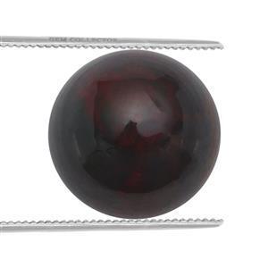 0.9cts Ethiopian Black Opal 8x8mm Round  (S)