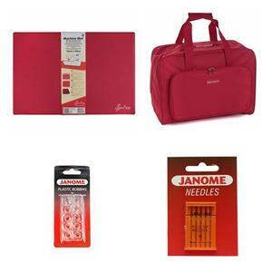 Sewing Machine Accessories Bundle: Mat, Bag, Bobbins & Free Needles. Save £5.50
