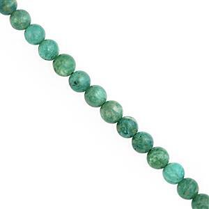 100cts Russian Amazonite Smooth Round Approx 6 to 6.50mm, 38cm Strand
