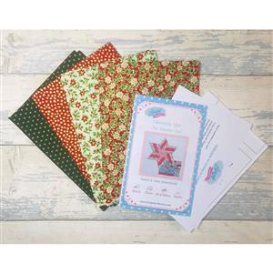 Living in Loveliness - Fabulously Fast Fat Quarter Fun Christmas. Issue 5 Option 1