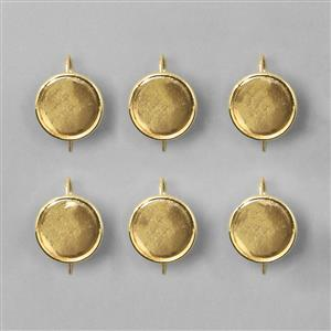 Earrings in Brass