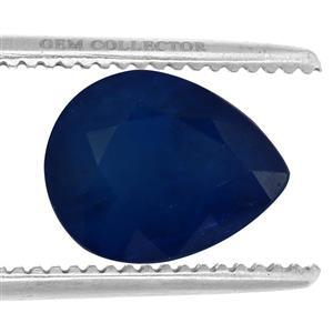 3.95ct Santorinite™ Blue Spinel Fancy Pear (U)