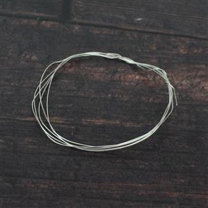 1m 925 Sterling Silver Wire 0.4mm