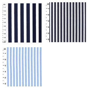 Stripes Sew Different Colourblock Dress Fabric Bundle (3.5m)