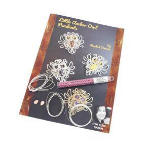 Little Lady Pink Opal Owls Kit & Booklet by Rachel Norris