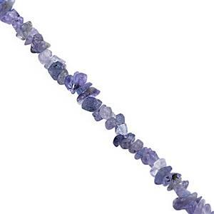 220cts Tanzanite Bead Nugget Approx 3x2 to 8x4mm, 120cm Strand