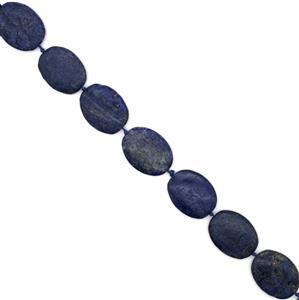 610cts Lapis Lazuli Plain Ovals Approx 30x40mm Approx 9pcs strand