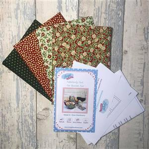 Living in Loveliness - Fabulously Fast Fat Quarter Fun Christmas. Issue 4 Option 1