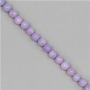 Lavender Opal Gemstone Strand