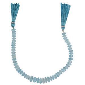 Swiss Blue Topaz Gemstone Strands