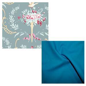 Tilda Old Rose Summer Bag Fabric Bundle (2m)