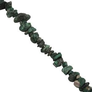 Malachite Gemstone Strand