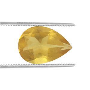 0.15cts Burmese Amber 7x5mm Pear  (N)