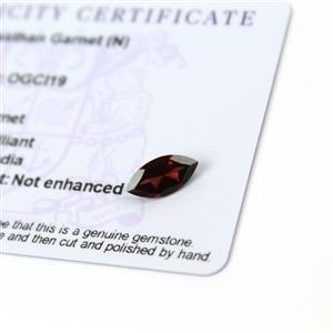 1.5cts Rajasthan Garnet 12x6mm Marquise  (N)