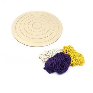 Crocus Flower Macrame Wall Hanging Kit