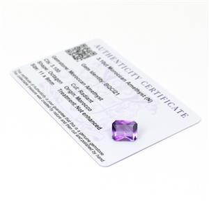 Moroccan Amethyst Gemstone Pieces  3.82cts