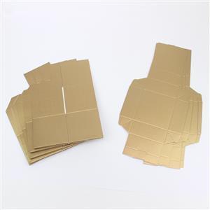Gold Silk Box & Lid 50mm 5pk