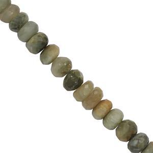 Cats Eye Quartz Gemstone Strand