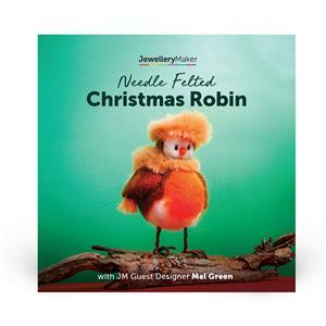Needle Felted Christmas Robins with Mel Green DVD (PAL)