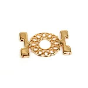 Cymbal Detis - Tila Connector - Rose Gold Plated (1pk)