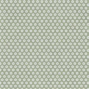 Hannah Basic Green Stars Fabric 0.5m