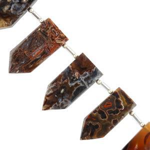 Stick Agate Gemstone Strands