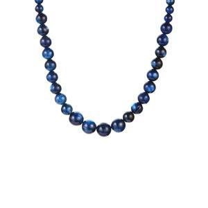 203.70ct Daha Kyanite Sterling Silver Necklace