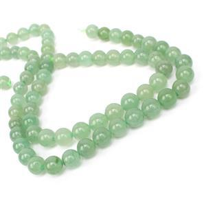 Double Trouble 160cts Green Aventurine Plain Rounds