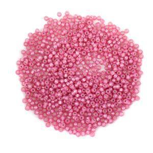 Miyuki Dark Rose Silver Lined Alabaster Seed Beads 8/0 (22GM/TB)