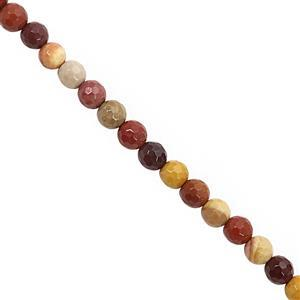 75cts Mookite Faceted Round Approx 6mm, 30cm Strand