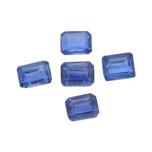 1cts Nilamani 4x3mm Octagon Pack of 5 (N)