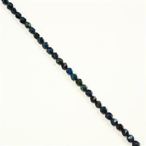 115cts Blue Tiger's Eye Round Diamond Approx 7x8mm, 38cm