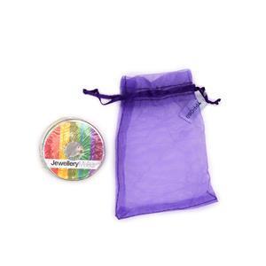 Silver Colour Essential Threading Pack - 10m Beading Thread, 10m Elastic, 10m Monofilament