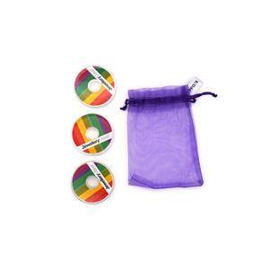 Gold Colour Essential Threading Pack - 10m Beading Thread, 10m Elastic, 10m Monofilament