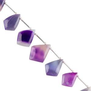 Purple Agate Gemstone Strands