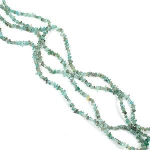 CLERANCE! 2x 140cts Light Apatite Small Nuggets Approx 5x2mm, 86cm