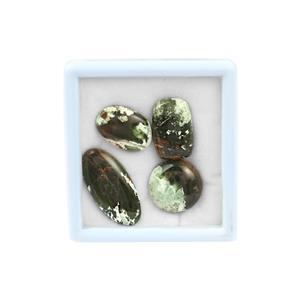 50cts Opal Chalcedony Cabochon Mixed Shapes ( Pack of 4)