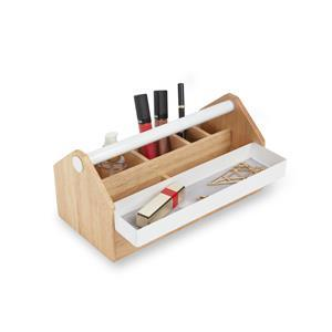 Toto Medium Storage Box White/Natural