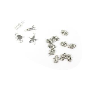 Silver Plated Charm Collection